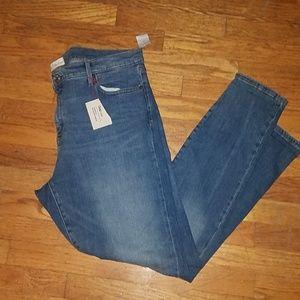 Nwt Women's Gap true skinny jeans